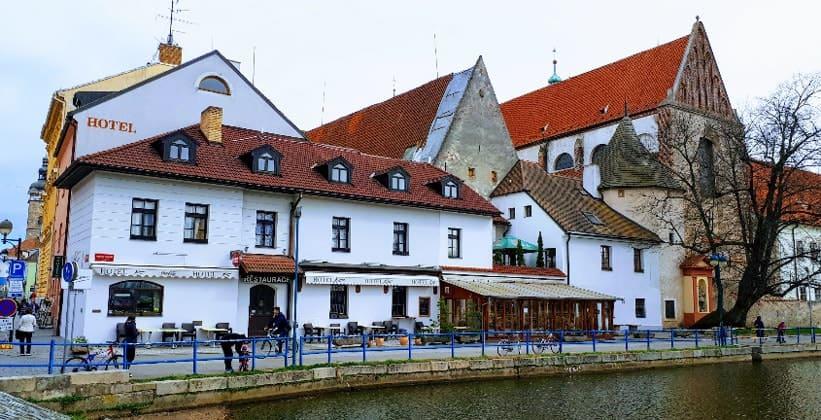 Отель Klika в городе Ческе-Будеёвице
