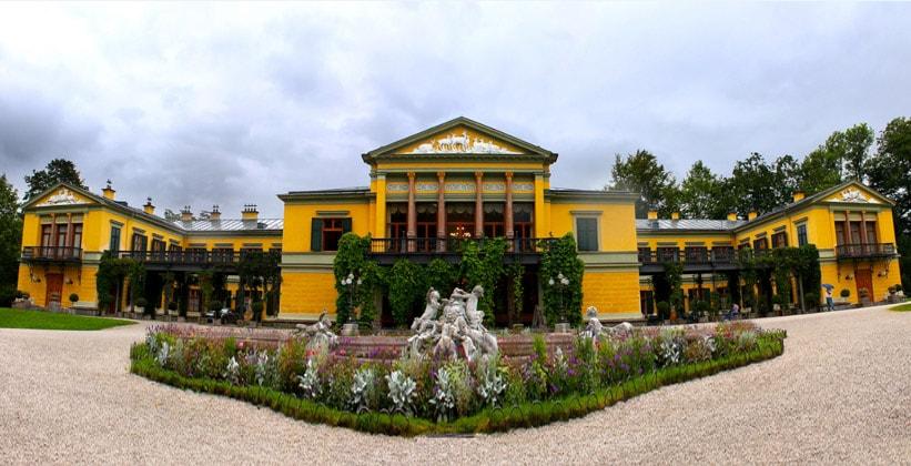 Императорская вилла в городе Бад-Ишль (Австрия)