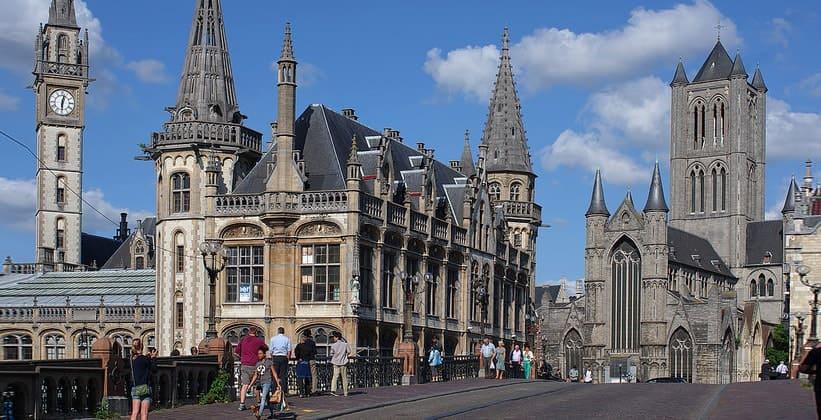 Исторический центр Гента (Бельгия)