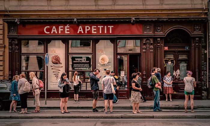 Кафе Apetit в Праге