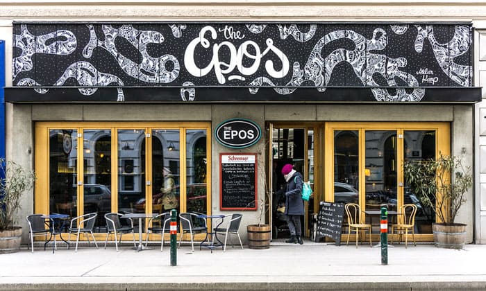 Кафе The Epos в Вене