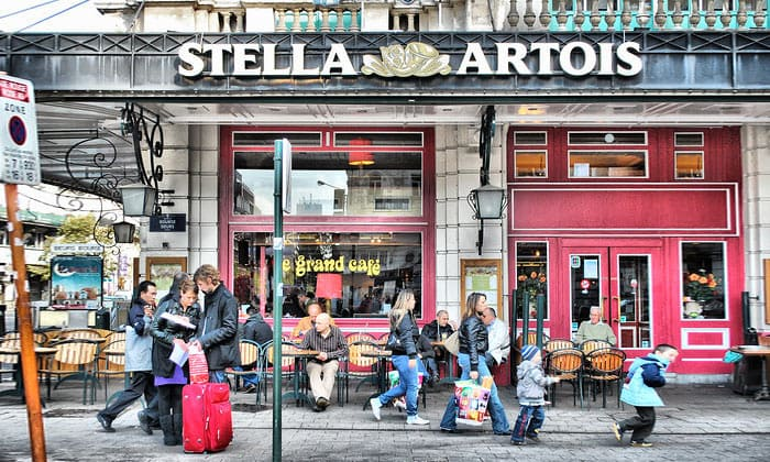 Кафе Le Grand в Брюсселе