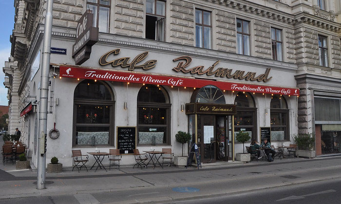 Кафе Raimund в Вене