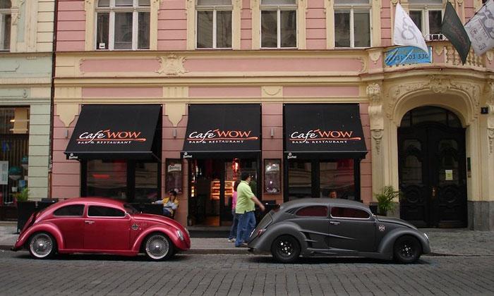 Кафе Wow в Праге