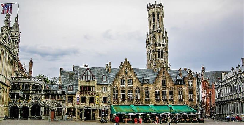 Средневековая колокольня Брюгге