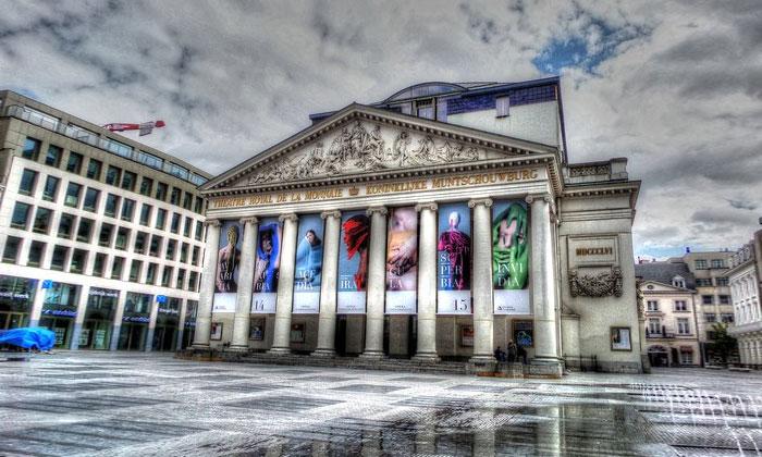 Театр рояль де ла Монне в Брюсселе