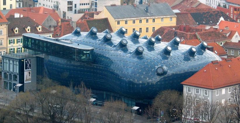 Музей-галерея современного искусства – Кунстхаус в Граце (Австрия)
