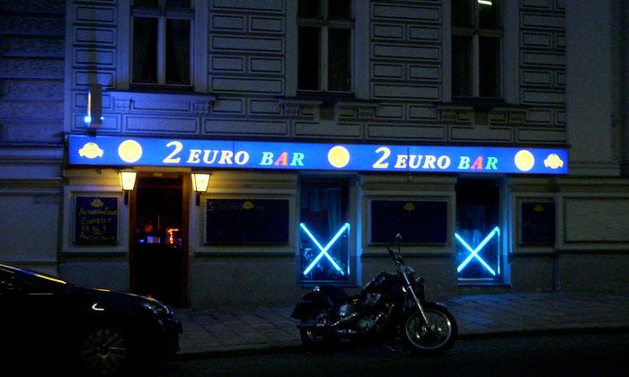 Ночной бар 2 Euro в Вене