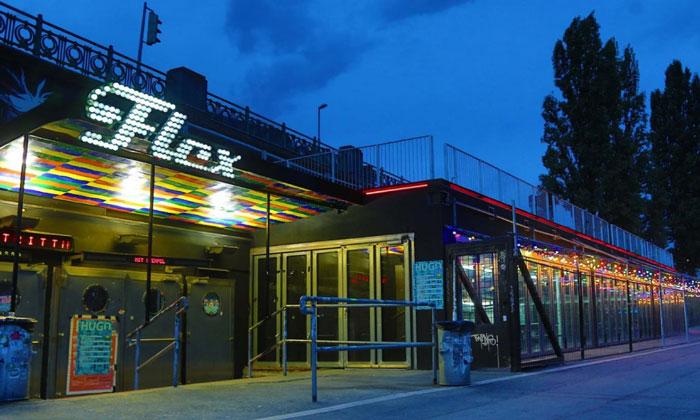 Ночной клуб Flex в Вене