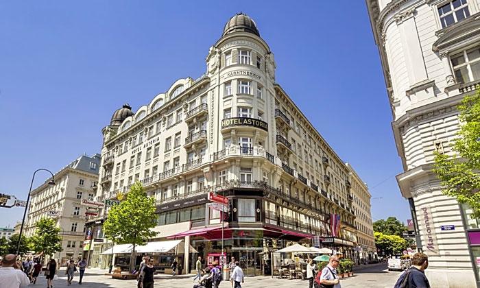 Отель Astoria в Вене