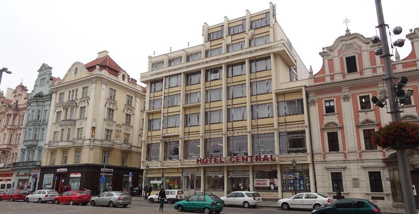 Отель Central в городе Пльзень (Чехия)