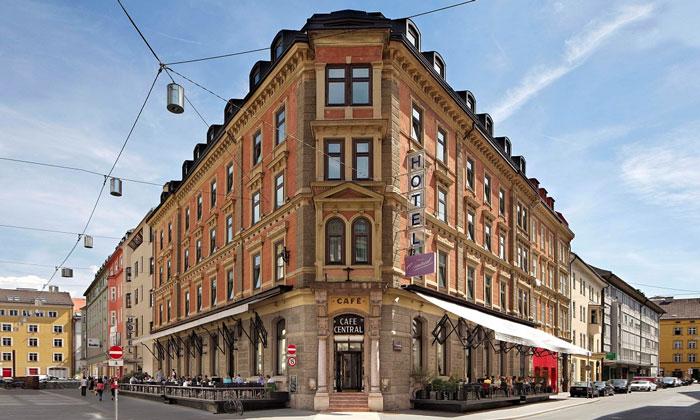 Отель-кафе «Central» (Инсбрук)