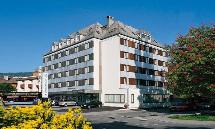 Отель Deutschmann в городе Брегенц