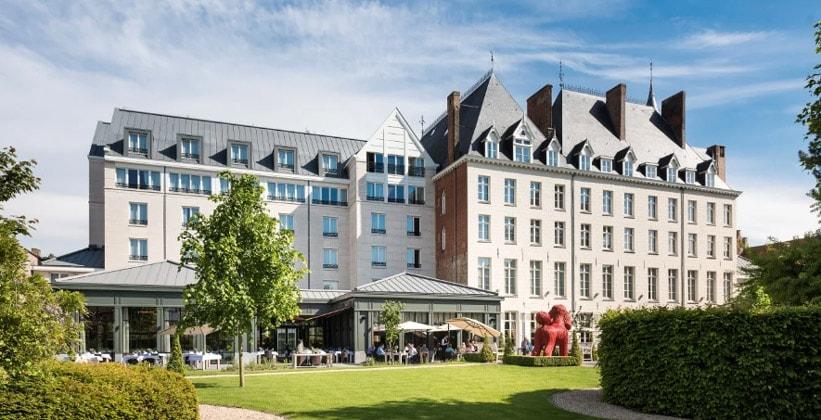 Отель Dukes Palace в Брюгге