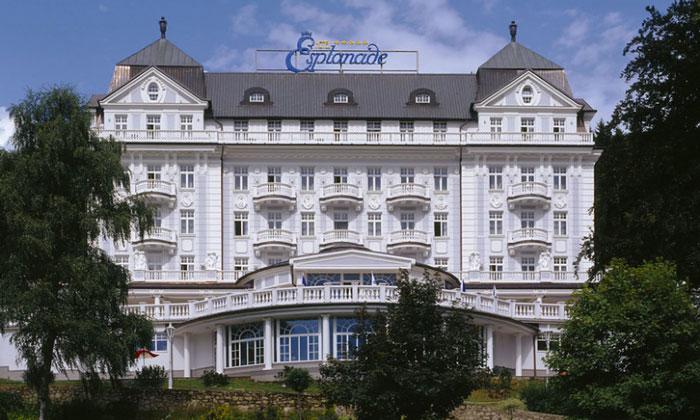 Отель «Esplanade» (Марианске-Лазне)