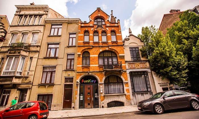 Отель FunKey в Брюсселе