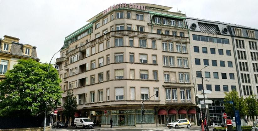 Отель Grand Cravat в городе Люксембург