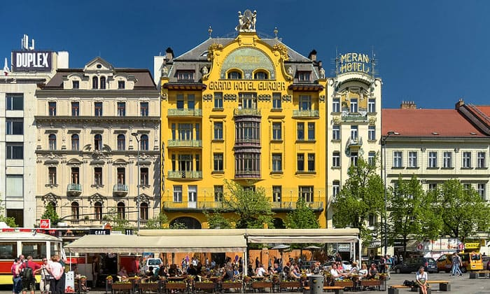 Гранд-отель Europa в Праге