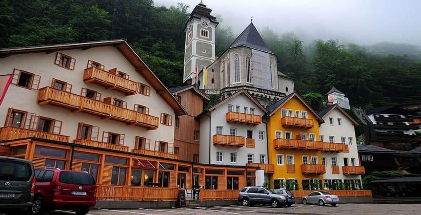 Отель Heritage в деревне Гальштат (Австрия)