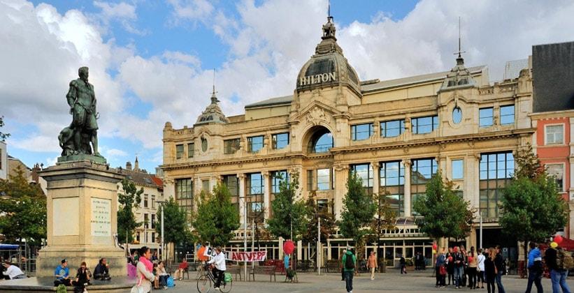 Отель Hilton в Антверпене (Бельгия)