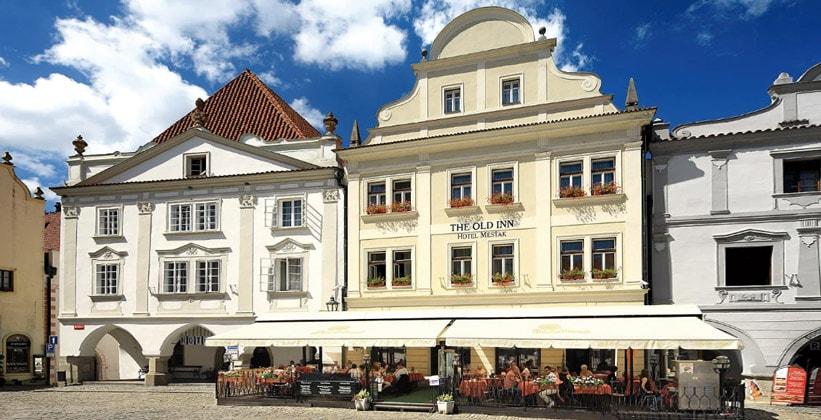Отель Old Inn в городе Чески-Крумлов