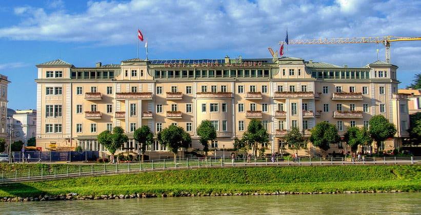 Отель Sacher в Зальцбурге (Австрия)