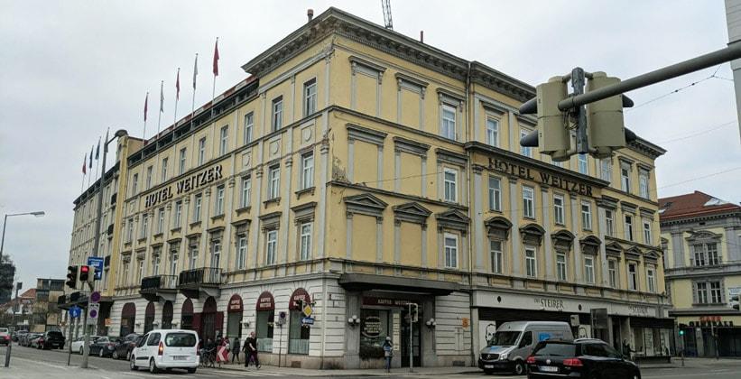 Отель Weitzer в Граце (Австрия)