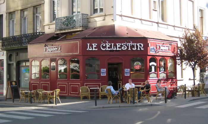 Паб Le Celestir в Брюсселе