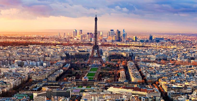 Панорама Парижа (Франция)