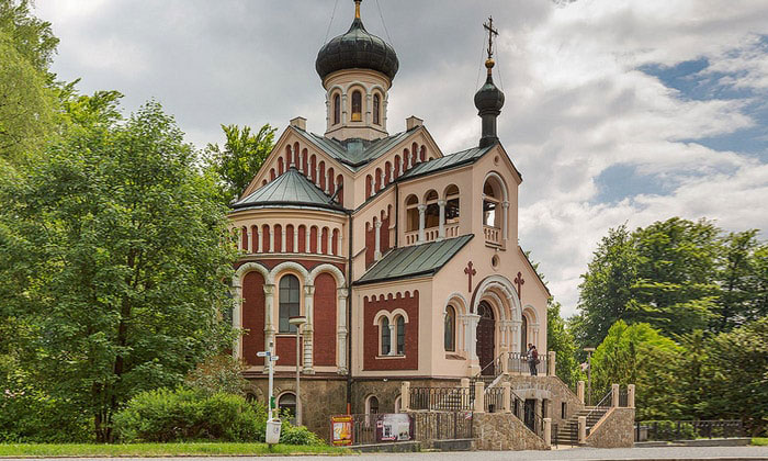 Православная церковь города Марианске-Лазне