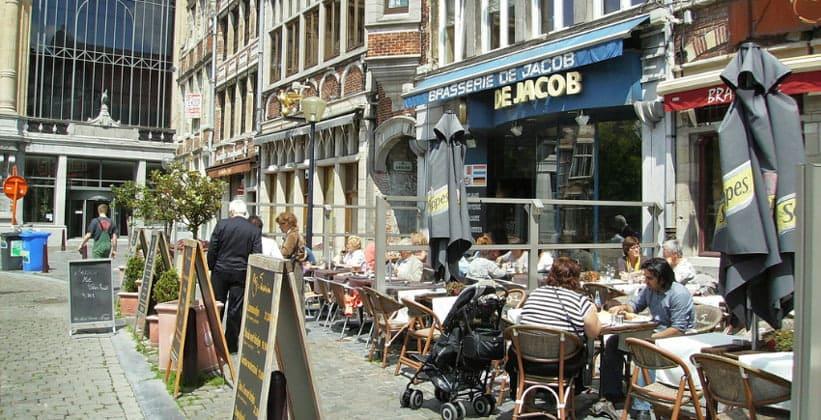 Ресторан De Jacob в Генте