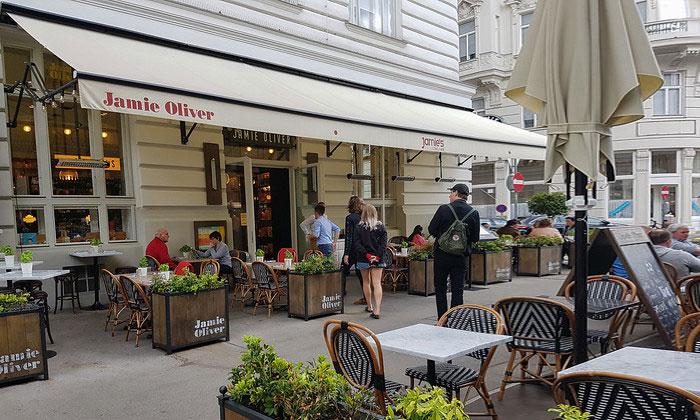 Ресторан Jamie Oliver в Вене