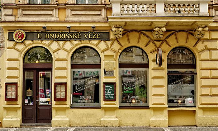 Ресторан U Jindrisske veze в Праге