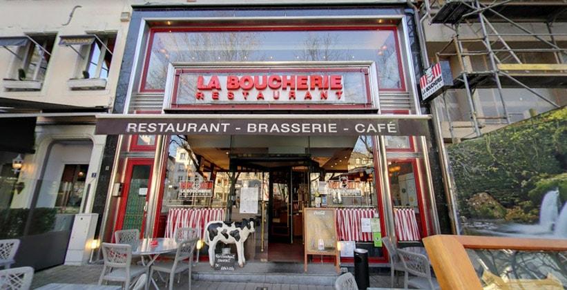 Ресторан La Boucherie в городе Люксембург
