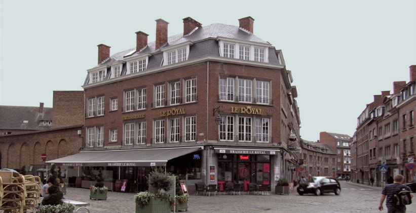 Ресторан Le Royal в Намюре (Бельгия)