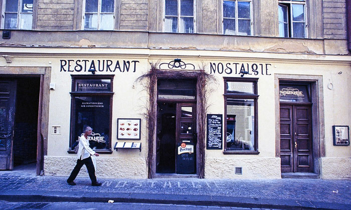 Ресторан Nostalgie в Праге