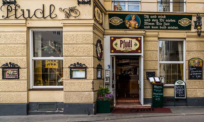 Ресторан Pfudl в Вене
