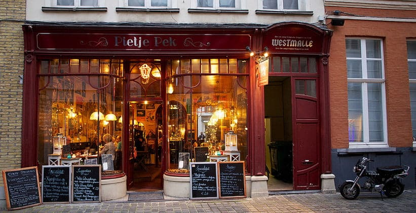 Ресторан Pietje Pek в Брюгге