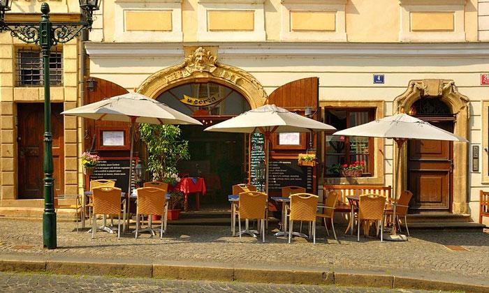 Ресторан U Certa в Праге
