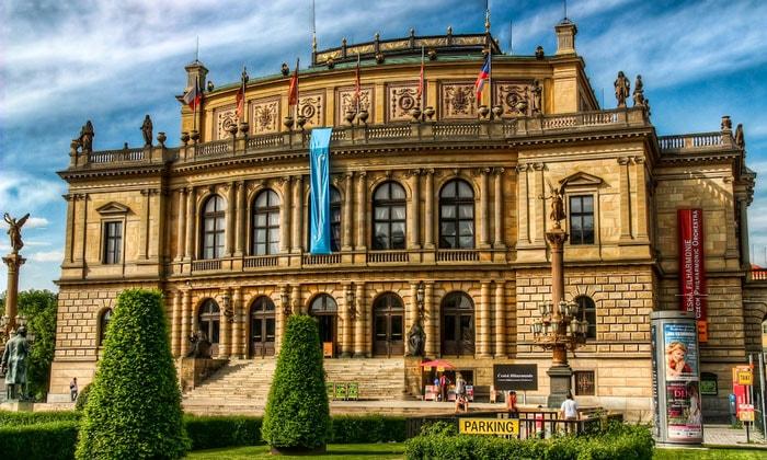 Выставочный зал Рудольфинум в Праге