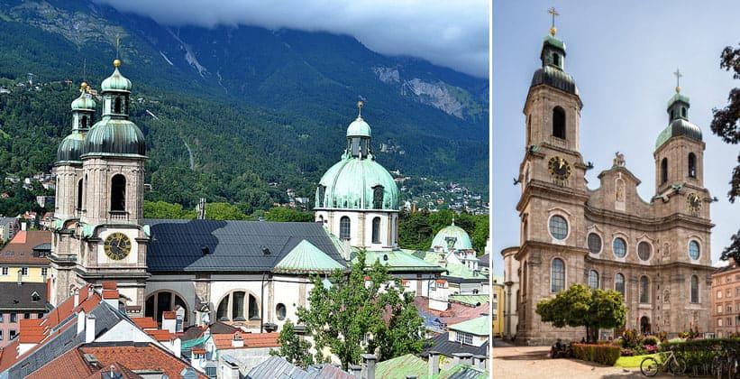 Собор Святого Иакова в Инсбруке (Австрия)