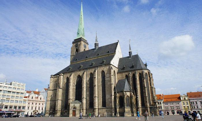 Собор Святого Варфоломея в городе Пльзень