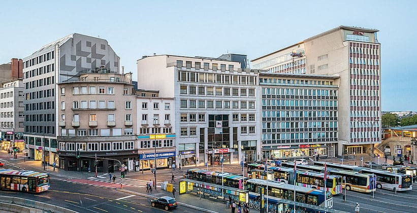 Современный город Люксембург