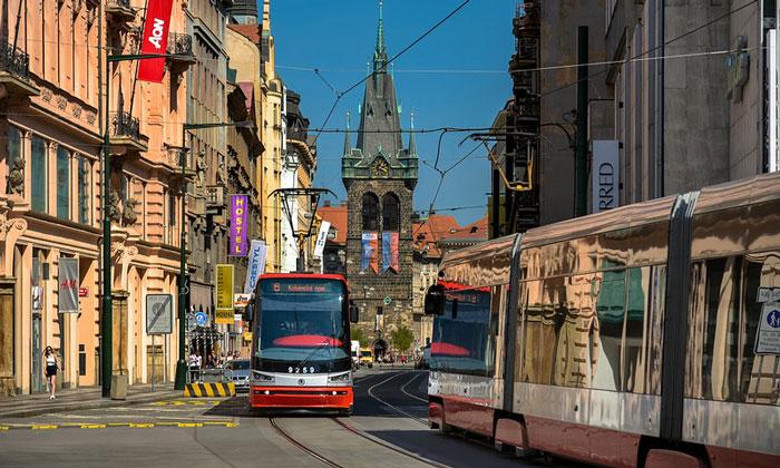 Современные трамваи (Прага)