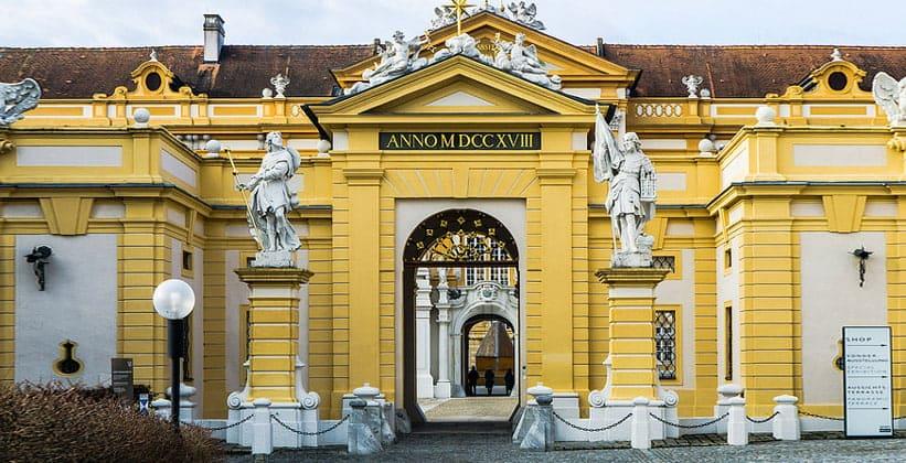 Вход в монастырь Мелька (Австрия)