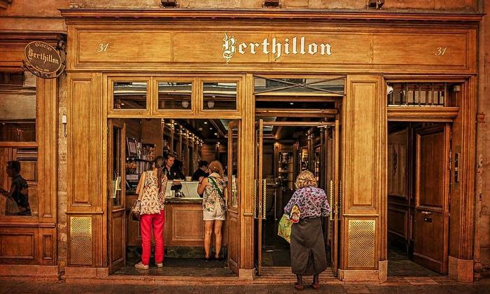 Магазин мороженого Berthillon в Париже
