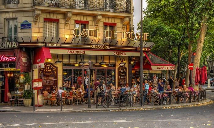 Кафе Le Dome в Париже