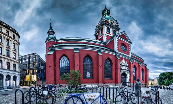 Церковь Святого Иакова в Стокгольме
