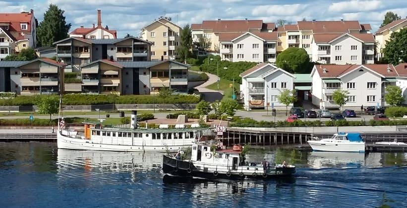 Деревня Лександ в Швеции
