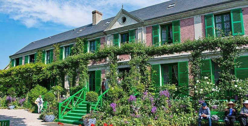 Дом Клода Моне в Живерни (Франция)